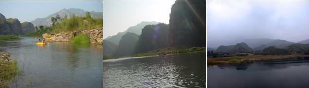 小西湖自然风景区位于北京怀柔县西北原黄花城乡内,是山